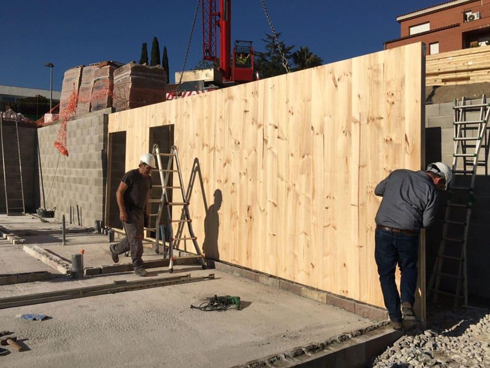 intalación-muros-madera
